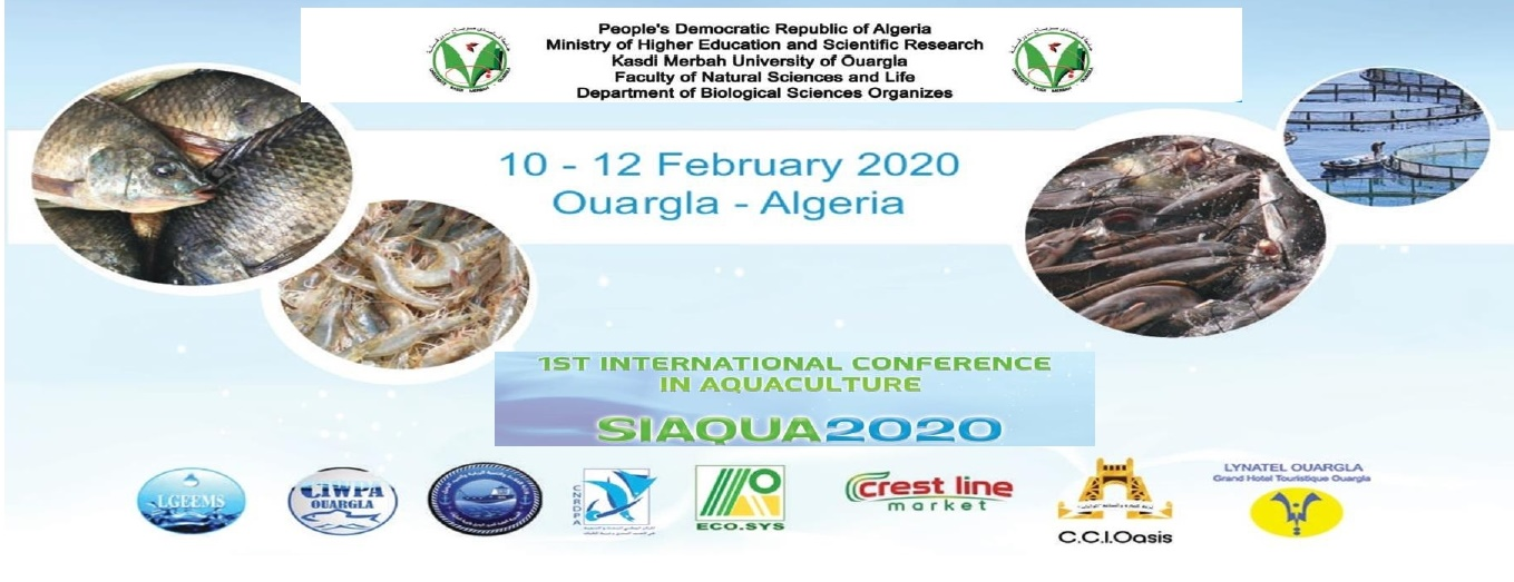 1 ST International Conférence in Aquaculture