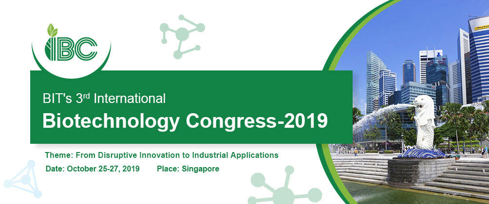 Congrès international de Biotechnologie-2019